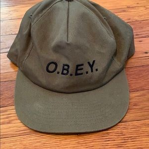 OBEY Forest Green Hat